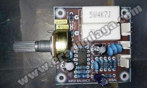 cara pasang input balance power amplifier