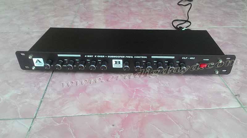 Jual Crossover aktif 2 way 3 way 4 way